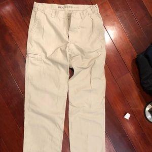 Men's Khaki Docker pants